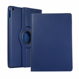 360º Standaard Hoes Map voor iPad 10.2 - iPad Air  10.5  - Blauw -  A2197  A2152