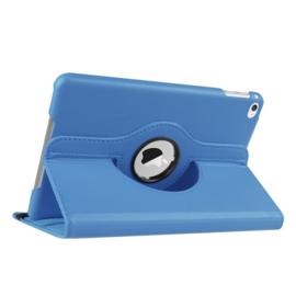 360º Standaard Bescherm Hoes Map voor iPad Mini 4 - Mini 5  Lichtblauw