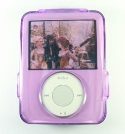 Crystal Case voor iPod Nano 3G  Paars