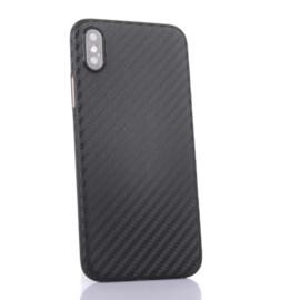 Ultra Thin Bescherm-Hoes Skin  voor iPhone XR - Carbon