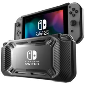 Hard Cover - Bescherm Hoes Skin voor Nintendo Switch  - Zwart