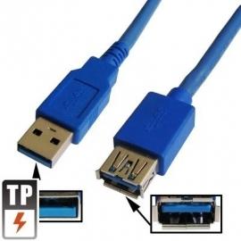 USB 3.0 verlengkabel 1,5 meter