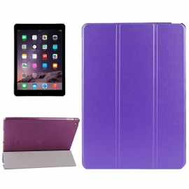 Bescherm-Cover Hoes Etui met Smart Cover voor iPad Air 2  Paars