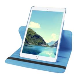 360º Standaard Bescherm Hoes Map voor iPad Mini 4  Lichtblauw