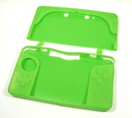 Silicone Bescherm-Hoes Skin voor Nintendo 3DS  Groen