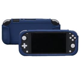 TPU Silicone Bescherm Hoes Grip voor Nintendo Switch Lite - Blauw