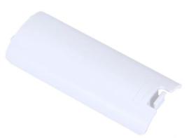 Batterij klepje voor Nintendo Wii Afstandsbediening  -  Wii-Mote - Wii Mote+    Wit