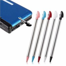 5x Inschuifbare Metalen Stylus Pen voor Nintendo 3DS XL