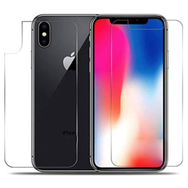 Front & Back Screenprotector Bescherm-Folie voor iPhone XR