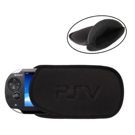 Opberg-Etui Hoes Pouch voor Playstation - PS Vita  - Zwart
