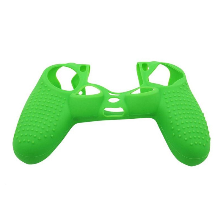 Grip Silicone Hoes / Skin voor Playstation 4 PS4 Controller    Groen