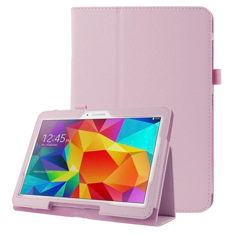 Bescherm-Etui Hoes Sleeve Map voor Samsung Galaxy Tab 4 10.1  Roze