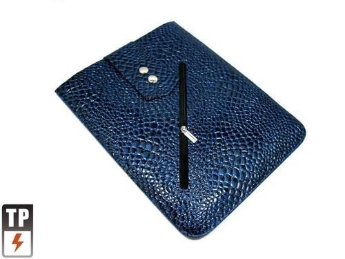 Bescherm-Opberg Hoes Etui Pouch Sleeve voor iPad - IPad Air   Blauw