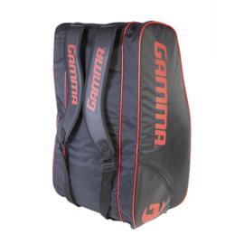 Gamma Racket Bag Carbon 15-Tour Bag black/red