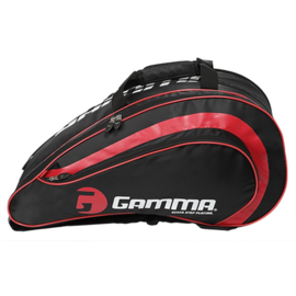 Gamma Pickleball Paddle bag (black/red)