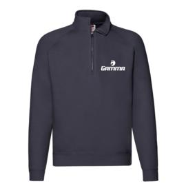 Gamma Tennis Premium Zip Neck Sweatshirt