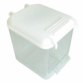 GF10289Badhuis multi wit binnen en buitenkant kooi