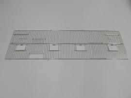 2154030,0 X 100 CM 2 deuren, 4 klepgaten en 2 draaideuren