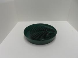 400 861Plastic groene schaal 12cm
