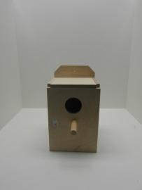 7508Broedblok Engelse grasparkiet (17 x 17 x 25cm) 2kg