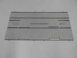 22030-140,0 x 80,0 CM 2 deuren en 2 draaideuren ZWART