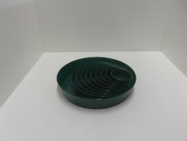 400 866Plastic groene schaal 26cm