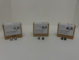 8520Zelfborende gaasschroeven 4,8 x 16 mm zwart 250stuks
