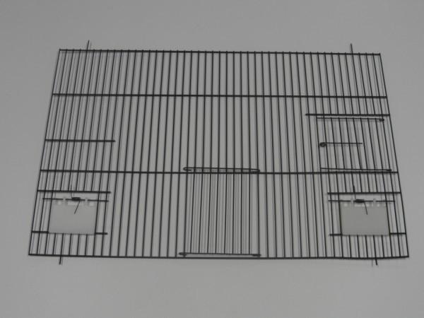 21940-140,0 x 60,0 CM 1 deur, 2 klepgaten en 1 draaideur ZWART