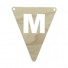 vlagletter M