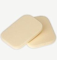 make-up spons vierkant - perfect finish - 2 stuks