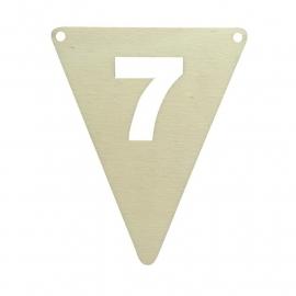 vlagletter 7