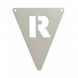 vlagletter R