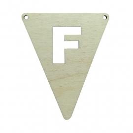 vlagletter F