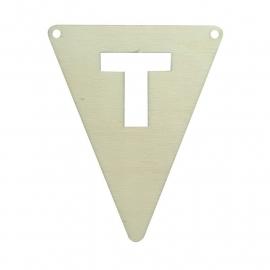 vlagletter T