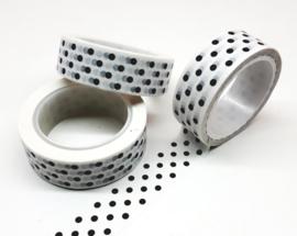 Washitape | dots white