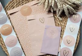 Voordeelset | lila, pink, naturel