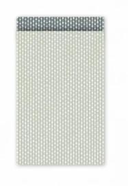 Cadeauzakjes   Connecting dots salie/grijs  12x19cm (per 5)