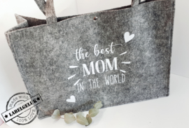 "Vilten tas ""Best MOM"""