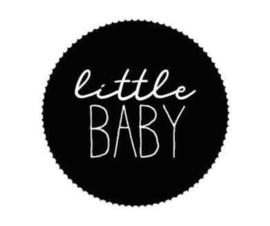 """Sticker """"little baby"""" 44mm"""
