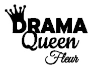 "Strijkapplicatie ""Drama Queen - Name"""