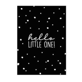 Kaart A6 | hello little one