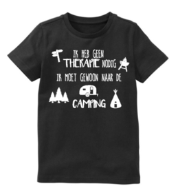 "T-shirt ""Camping Therapie"""