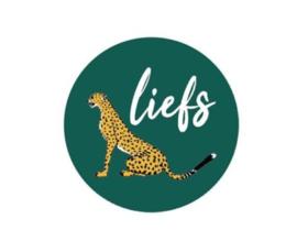 "Sticker ""leopard green"" 40mm"