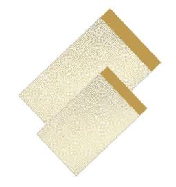 Cadeauzakjes | Spirograph goud12x19cm (per 5)