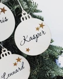 Houten kersthanger