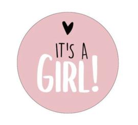 Sticker | it's a girl 40mm