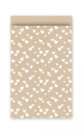 Cadeauzakjes   Solo hearts 12x19cm (per 5)
