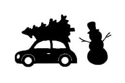 Setje winter/kerst