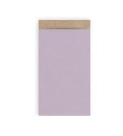 Cadeauzakjes | craft lila 7x13cm (per 5)