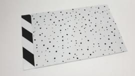 Cadeauzakjes Confetti / Diagonale streep (per 5)